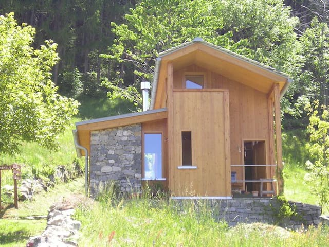 BEAUTIFUL CHALET IN VALCHIAVENNA - Pratella - Cabin