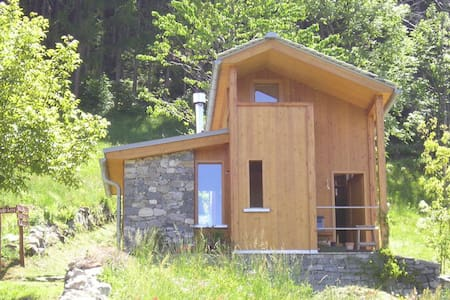 BEAUTIFUL CHALET IN VALCHIAVENNA - Pratella - Blockhütte