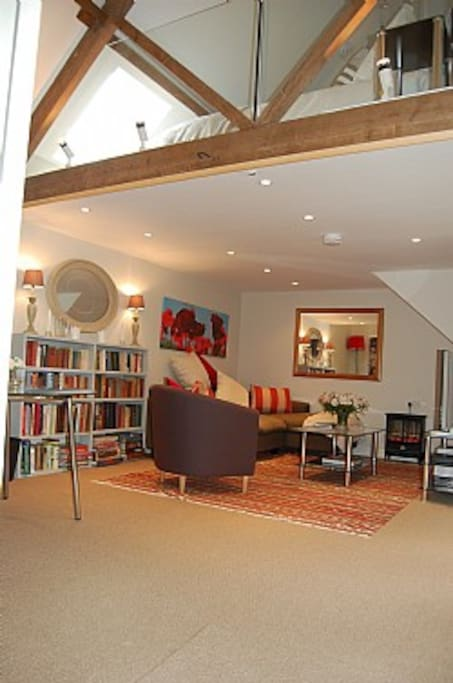 Beautiful Open Plan Living Room/Dining Area