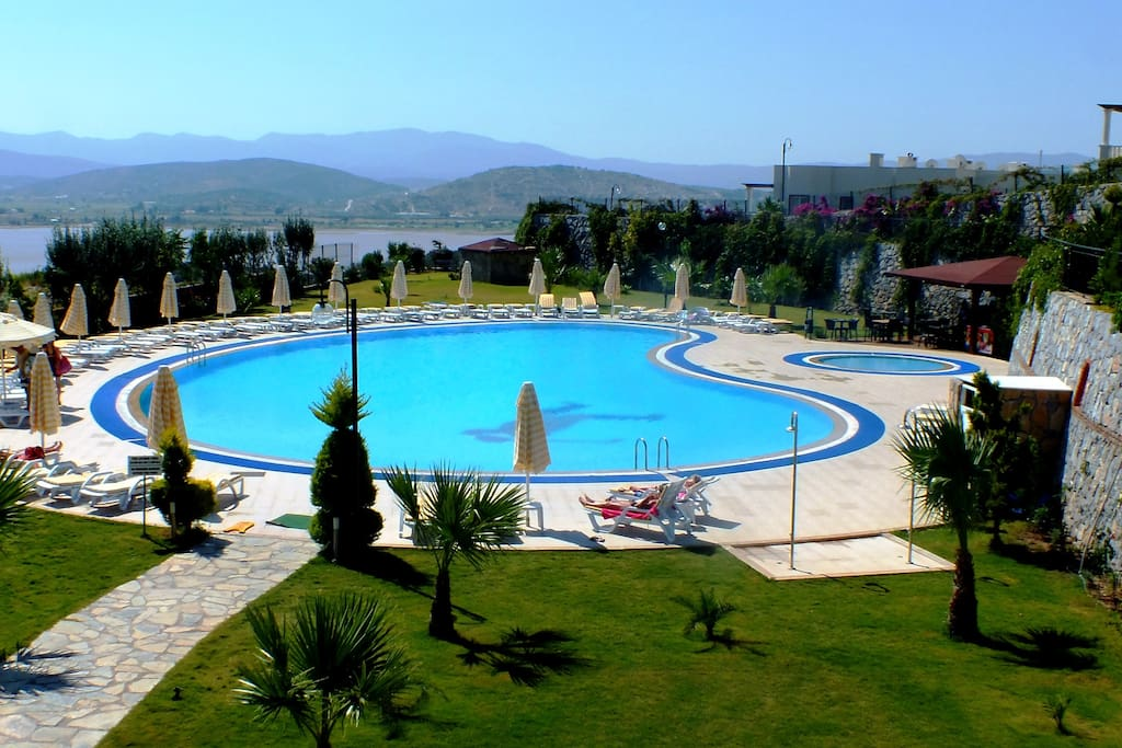 Main Pool & Childrens' Pool