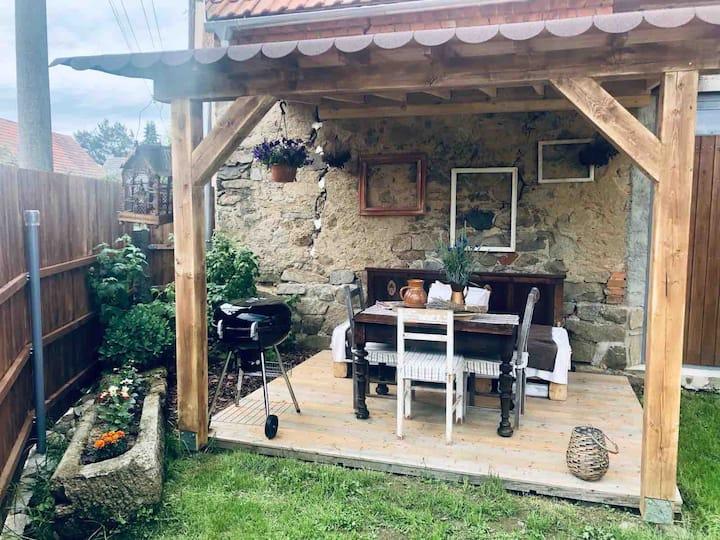 Útulné ubytování v malebné vesničce na jihu Čech