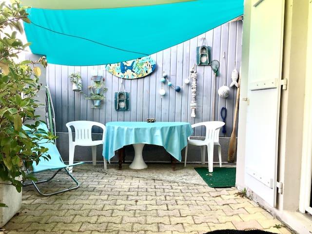 Maisonnette studio près plage, WIFI - Arcachon