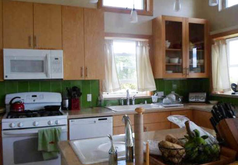 A Great Kitchen that Guests have access to