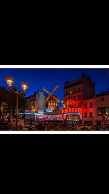 Le moulin rouge à 5min