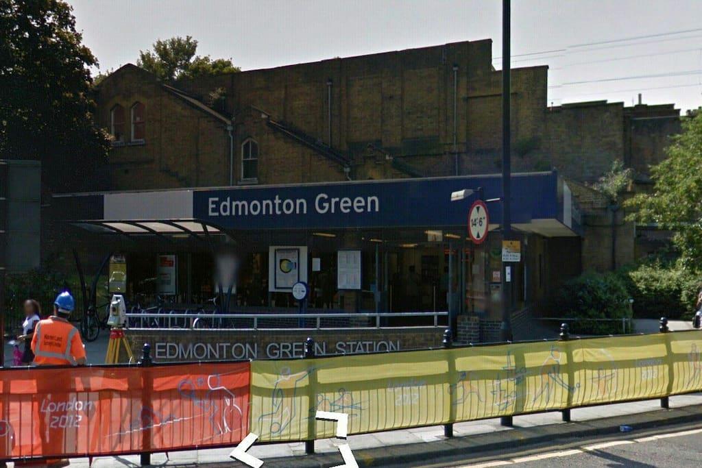 Edmonton Green Station - less than 1 min walk!