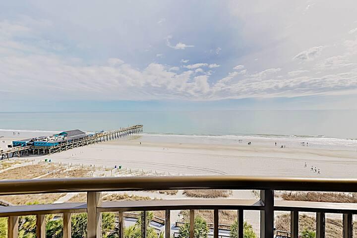 New Listing! Beach Penthouse w/ All-Season Pool