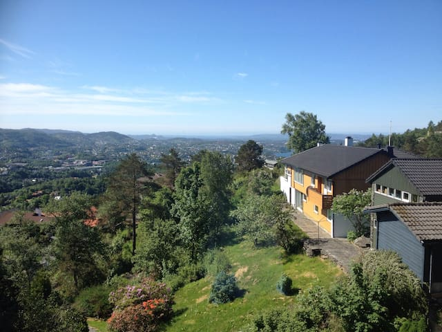 Spacious house with stunning view - Берген - Дом