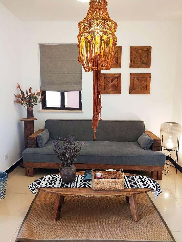 毗邻爱琴海 端头房 自然风格 设计师高端民宿