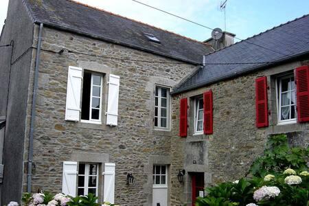 Großes helles Ferienhaus mit Kamin - Plouguerneau - Dům
