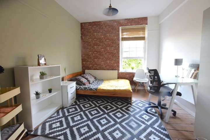 - Budget double in Shoreditch