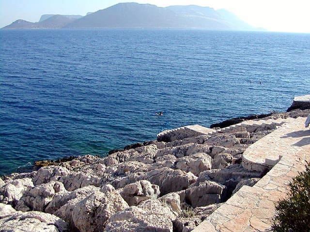 Amazing Sea Views of Peninsula with pool - Kaş - Byt
