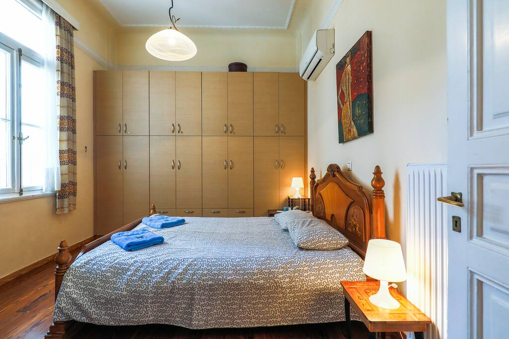 Bedroom No 1 with double bed + optional one single bed