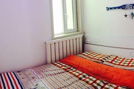 西宁船屋家庭客栈浪漫次卧1.5米双床 - 西宁 - House
