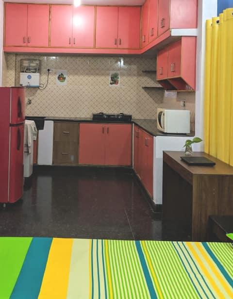 Cozy Haven Studio Suites Near Hoodi/Whitefield