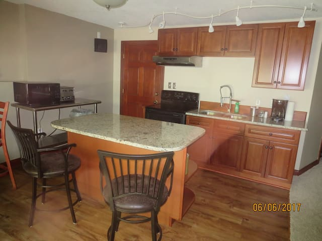 Large, very comfortable, 1 BR. APT,
