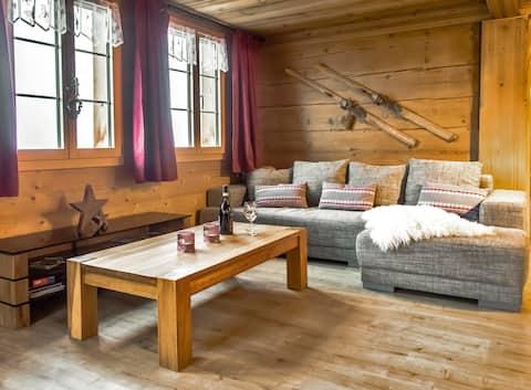 Dom Simmental z alpejskim centrum odnowy biologicznej