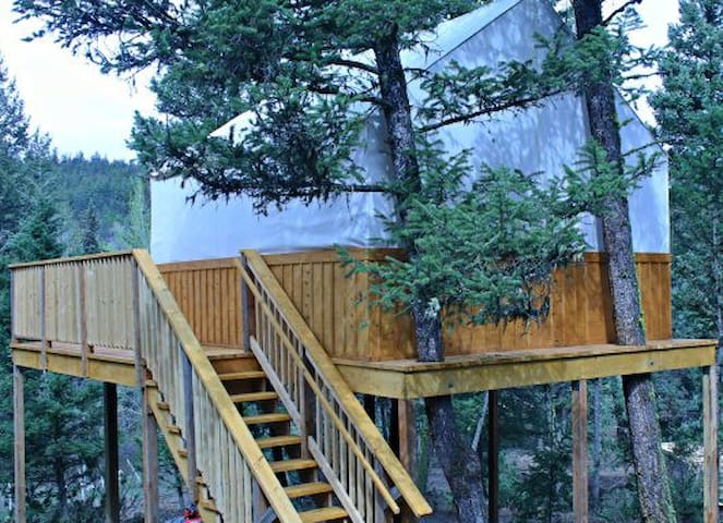 Tree House in the Monashee Mountains - Cherryville - Treehouse