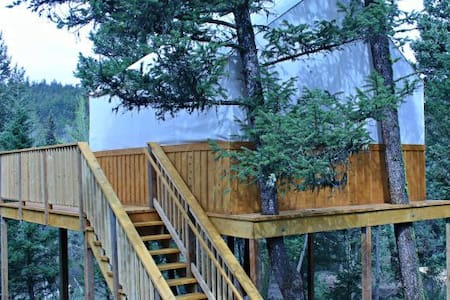 Unique Tree House - Ashcroft