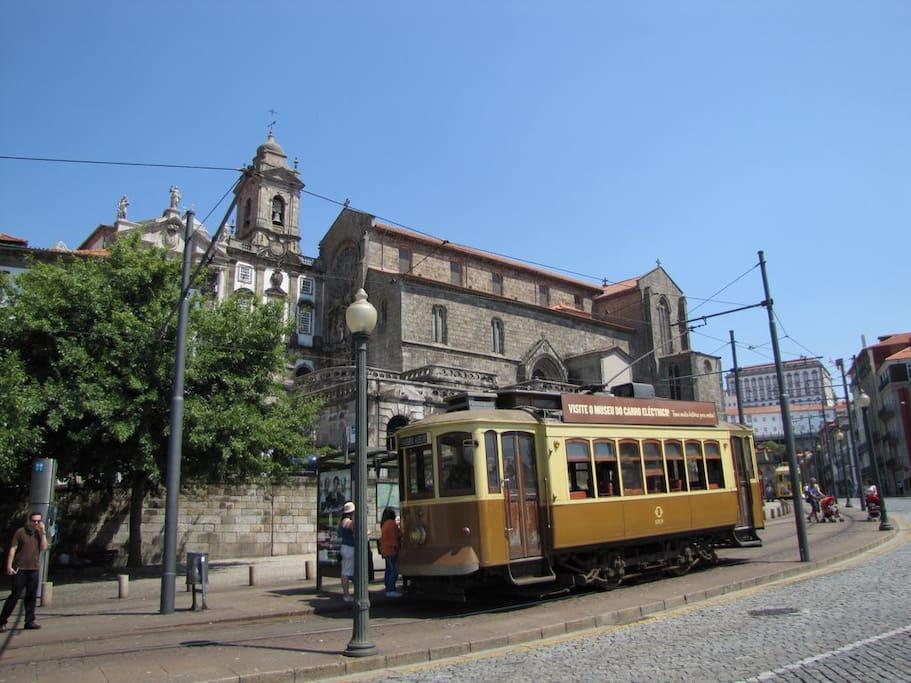 Porto - le tramway