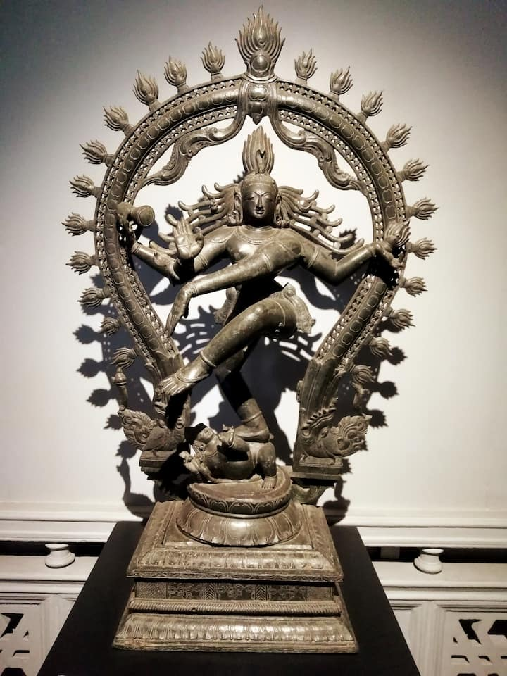 Cosmic dance of Shiva