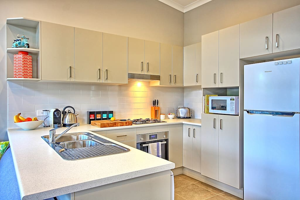 A fully equipped kitchen c/w dishwasher ensures minimum fuss for your vacation...