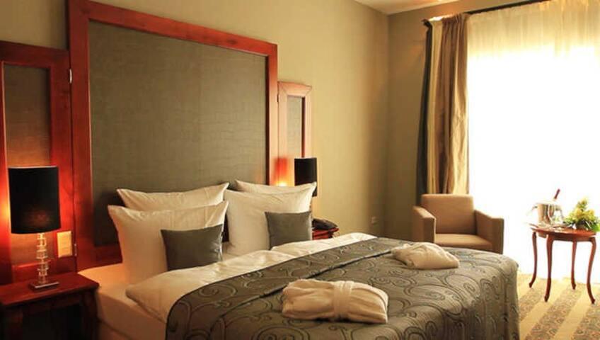Van der Valk Resort Linstow, Hotelzimmer (a)