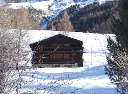 Appartement dans un chalet traditionnel (S2) - Ayer