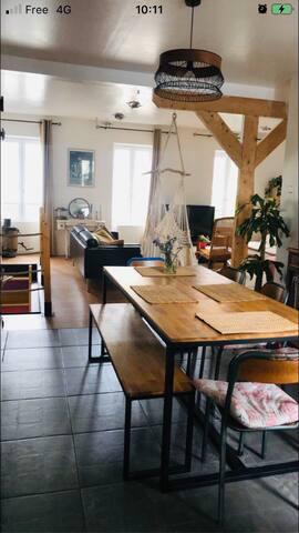 Chambres avec SDB privative Centre-ville/Gare/Port