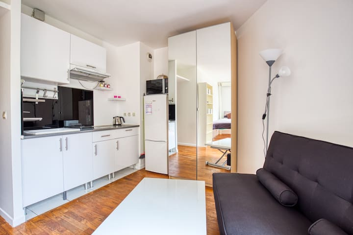 Nice apartment with terrace in Charenton