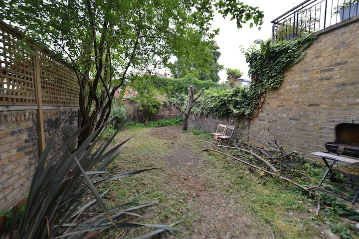 Garden is looking rather bad and will be next to be repaired