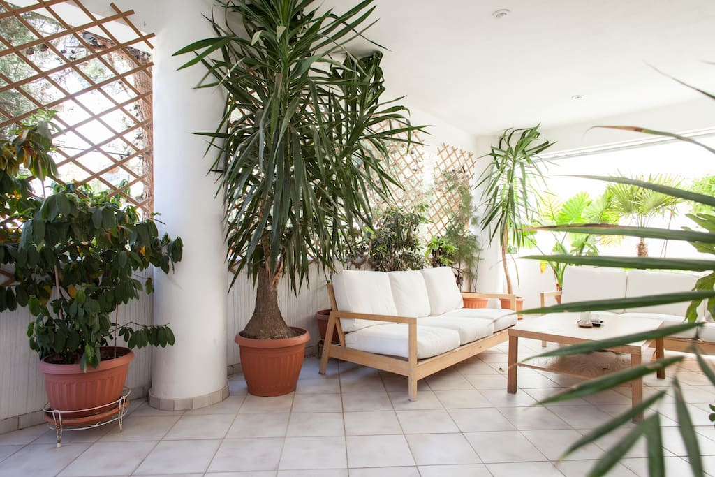 You 're gonna love the veranda, though...