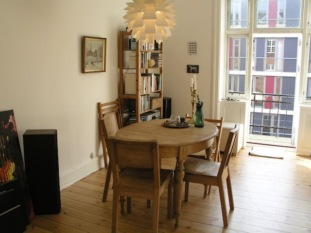 Nice and spacious flat in Nørrebro - Copenhague - Departamento