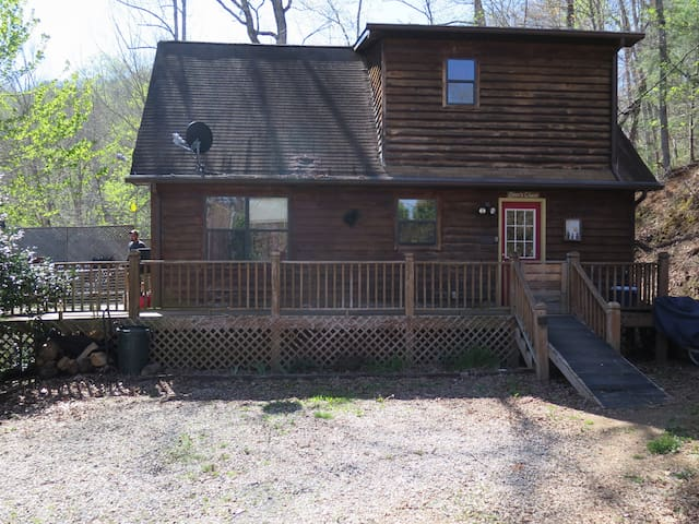 Bears Choice Mountain Cabin - Bryson City - Hus