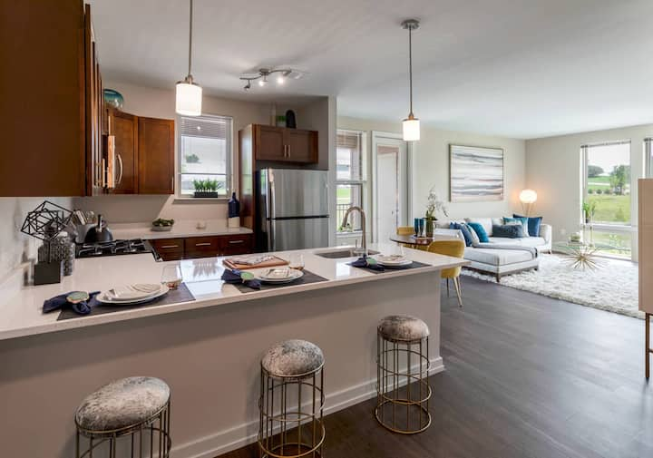 A home you will love   1BR in King of Prussia