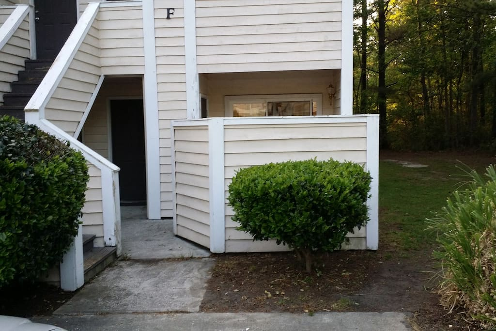 End Condo on  First Floor Unit with 2  Parking Spaces