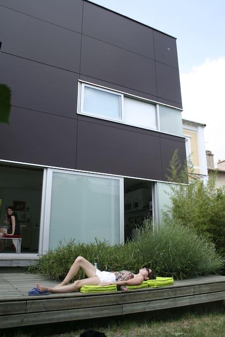 Coté jardin/ Garden