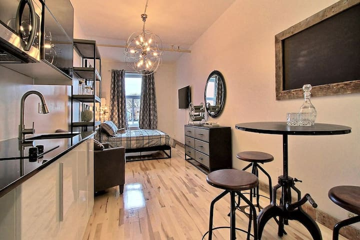 Awesome loft in Downtown Quebec ♥