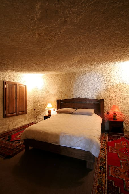 The main bedroom in Elif Cave
