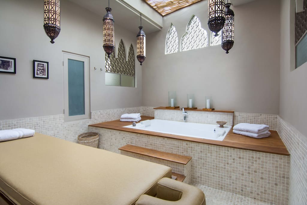 Our Moroccan spa!!