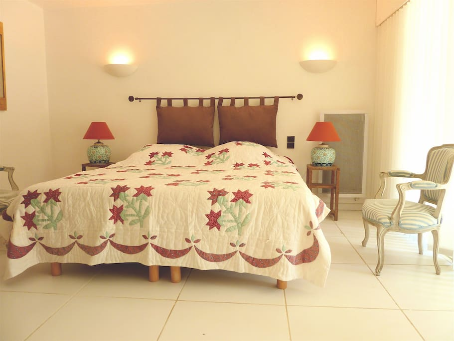 bedroom ensuite with facilities for ederly and desable
