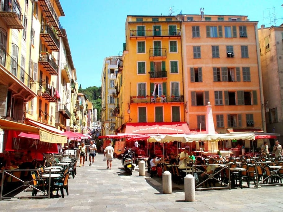 Place Rossetti - Access to The old Castle of Nice
