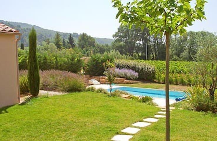 Maison en campagne avec piscine