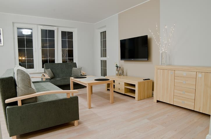Apartament Bałtyk II 500m od plaży - Grzybowo - Apartament