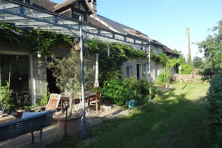 Maison de charme près des Alpes mancelles - Saint-Pierre-des-Nids - Dům
