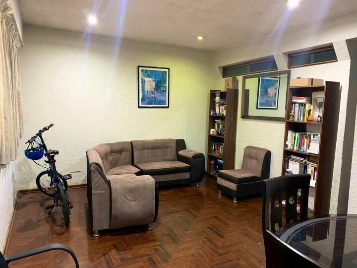 Habitación con baño privado en Miraflores