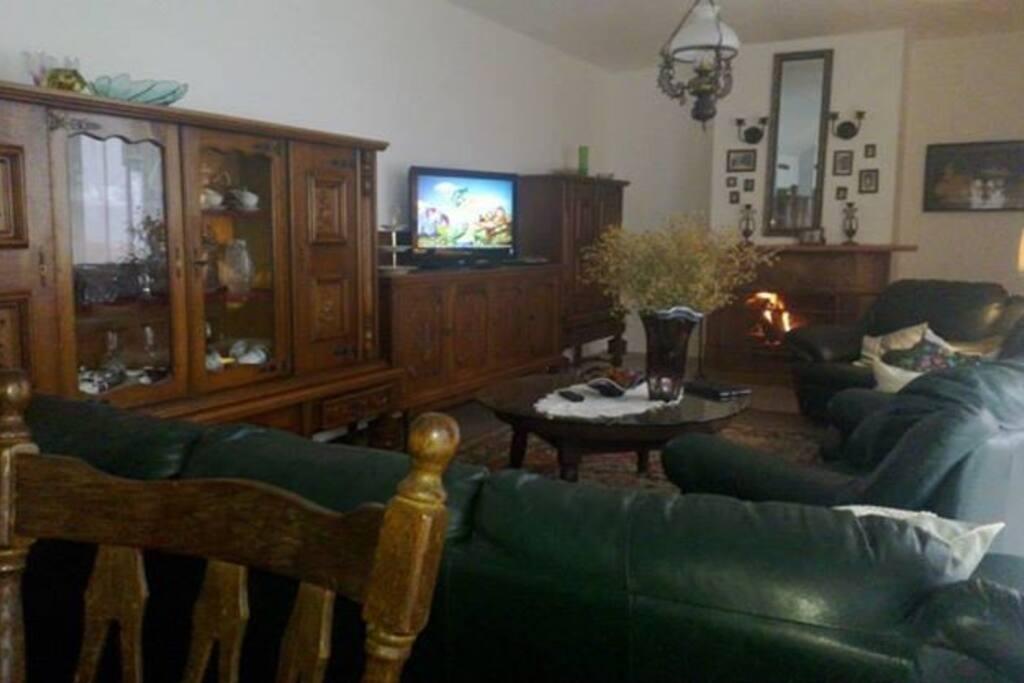 Гостинная комната: Вместо большого телевизора, мы предоставим телевизор меньшего размера