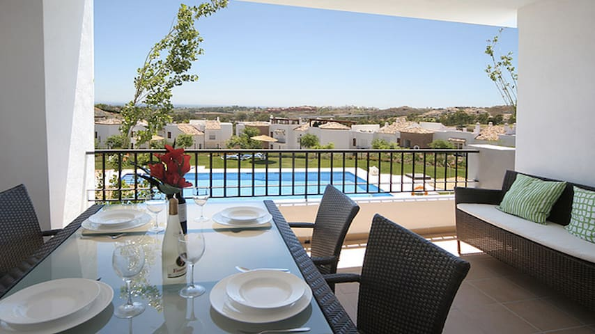 LOS ARQUEROS 2 BED LUXURY RENTAL, ENCINAS - Benahavís - Appartement
