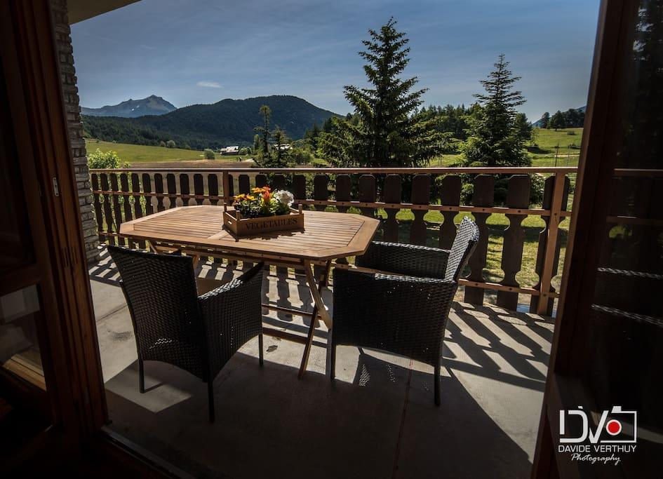Balcone d'estate