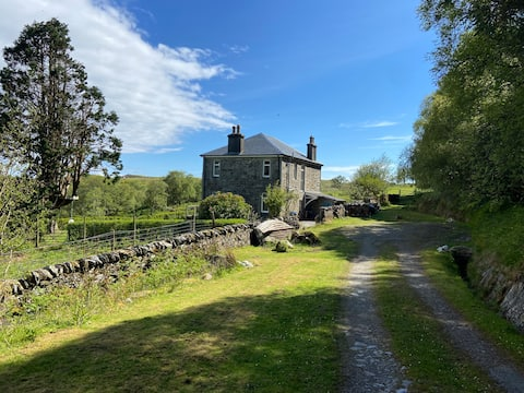 Picturesque Isle of Jura house