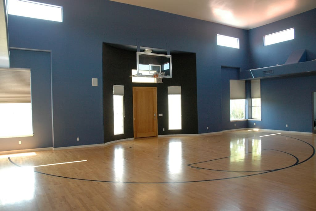 Great Room/Basketball Court